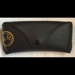 Genuine Black Ray Ban Sunglass Case